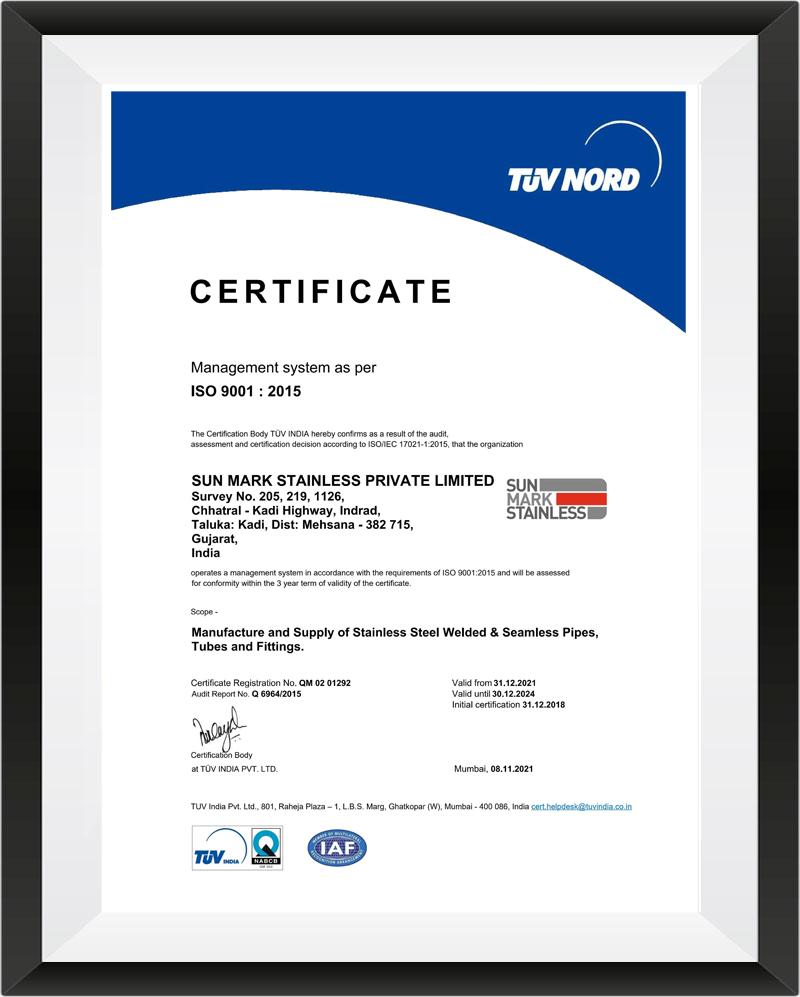 certification certificate